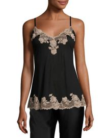 Charlize Lace-Trim Jersey Lounge Camisole at Neiman Marcus