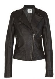 Charlotte Ronson Leather Jacket at Net A Porter