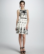 Charlottes dress at Bergdorf Goodman