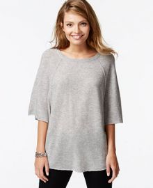 Charter Club Cashmere Raglan-Sleeve Sweater at Macys