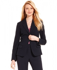 Charter Club Jacket Single-Button Blazer - Women - Macys at Macys