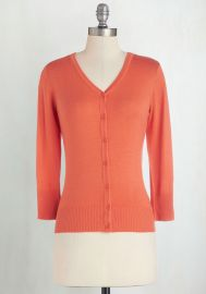 Charter School Cardigan in Cantaloupe at ModCloth