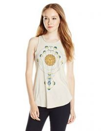 Chaser Womenand39s Sun Graphic Tank Top at Amazon