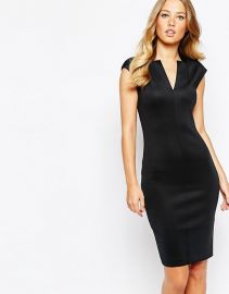 Chayad Neoprene Suit Dress by Ted Baker at Asos