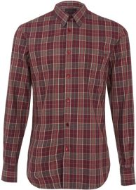 Check Cotton Shirt by Alexander McQueen at Farfetch