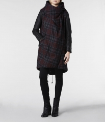 Check Maze Parka at All Saints