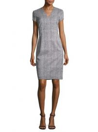 Check Sheath Dress by Escada at Gilt at Gilt