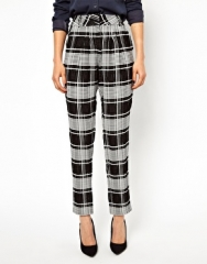 Check trousers at Asos