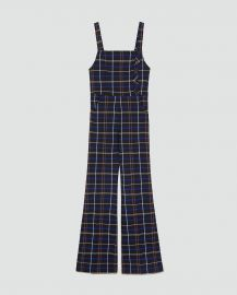 Checked Overalls by Zara at Zara