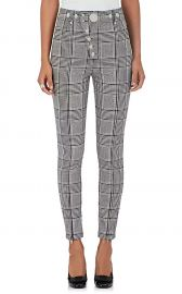 Checked Trousers by Alexander Wang at Barneys