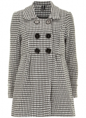 Checked jacket at Dorothy Perkins
