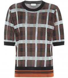 Checked sweater at Mytheresa