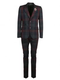 Checkered Suit by Gucci at Italist