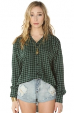 Checkered shirt by See you monday at Amazon