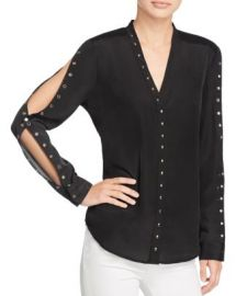 Chelsea And Walker Grommet Top at Bloomingdales