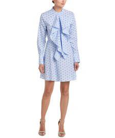 Chelsea Ruffle Shift Dress by BCBGMAXAZRIA at Bluefly