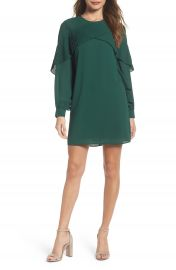 Chelsea28 Ruffle Shift Dress at Nordstrom