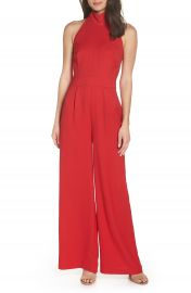 Chelsea28 Tie Back Jumpsuit  Regular  amp  Petite at Nordstrom