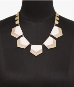 Chevron necklace at Express