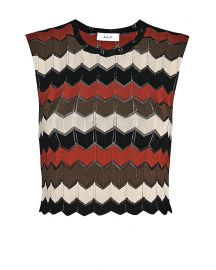 Chevron top by ALC at Intermix