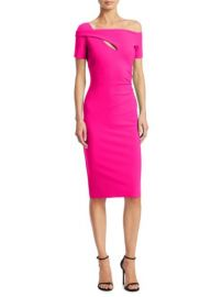 Chiara Boni La Petite Robe Cutout Knee-Length Dress at Saks Fifth Avenue
