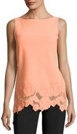 Chiara Boni La Petite Robe Desiree Sleeveless Jersey Rose Tunic at Neiman Marcus