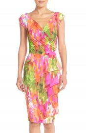 Chiara Boni La Petite Robe Egea Print Jersey Sheath Dress at Nordstrom