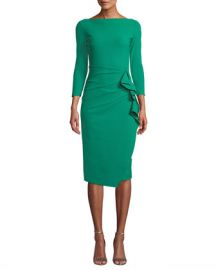 Chiara Boni La Petite Robe Zelma Ruched Body-Con Dress at Neiman Marcus