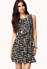Chic Cutout Dress at Forever 21