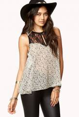Chic Paisley Blouse at Forever 21