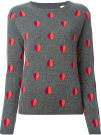 Chinti And Parker Intarsia Heart Sweater - Biffi at Farfetch