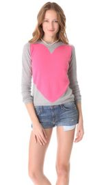 Chinti and Parker Cashmere Love Heart Sweater at Shopbop