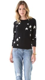 Chinti and Parker Intarsia Star Cashmere Sweater at Shopbop