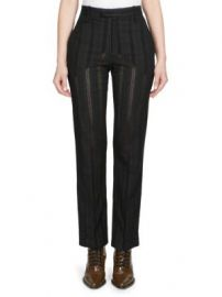 Chlo   - Owl Eye Embroidered Trousers at Saks Fifth Avenue