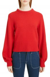 Chlo   Iconic Balloon Sleeve Cashmere Sweater at Nordstrom