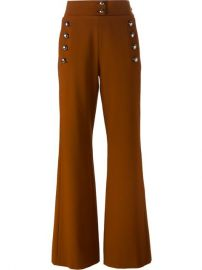 Chloand233 Buttoned Flared Trousers - Atelier Ny at Farfetch