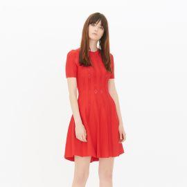 Chloe Dress red at Sandro