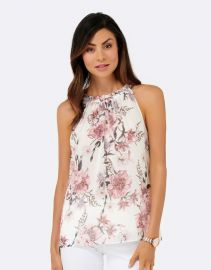 Chloe Gathered Neckline Cami at The Iconic
