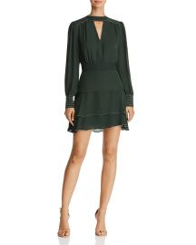 Chrissy Beaded Silk Choker Dress by Parker at Bloomingdales
