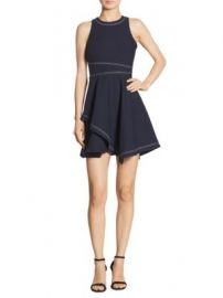 Cinq   Sept - Lyla Fit   Flare Dress at Saks Fifth Avenue