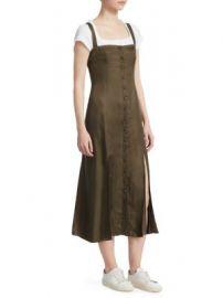 Cinq    Sept - Alexa Cupro Twill Slip Dress at Saks Fifth Avenue
