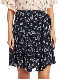 Cinq    Sept - Carson Floral Skirt at Saks Fifth Avenue
