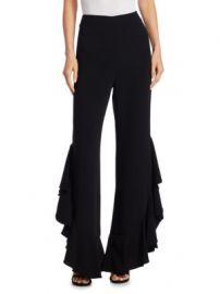 Cinq    Sept - Helena Ruffle Pants at Saks Fifth Avenue