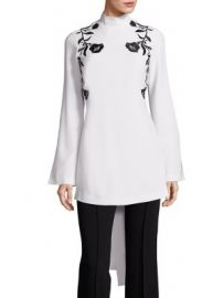 Cinq   Sept - Rosabell Tie Back Tunic at Saks Fifth Avenue