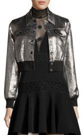 Cinq a Sept Kane Metallic Jacket at Neiman Marcus