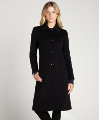 Cinzia Rocca Wool Blend Coat at Bluefly