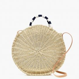 Circle Straw Tote at J. Crew
