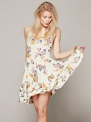 Circles of Flowers Dress at Free People