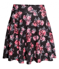 Circular Floral Skirt at H&M