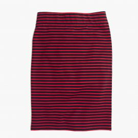City Skirt in Sailor Stripe at Madewell